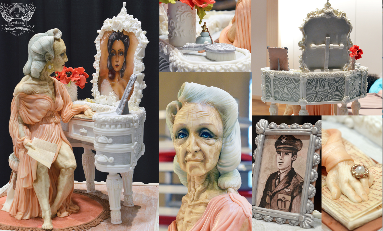 Cake Art Competition : Meet Cake Artist Elizabeth Marek CakeMade Blog